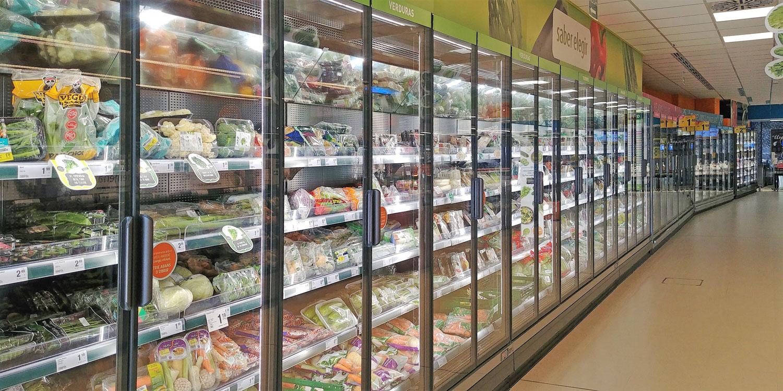 frío comercial - vitrina de refrigerados