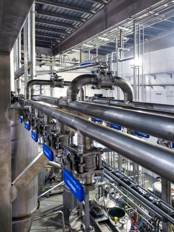 Instalación de alto rendimiento para refrigeración de molinos de pasta de cacao